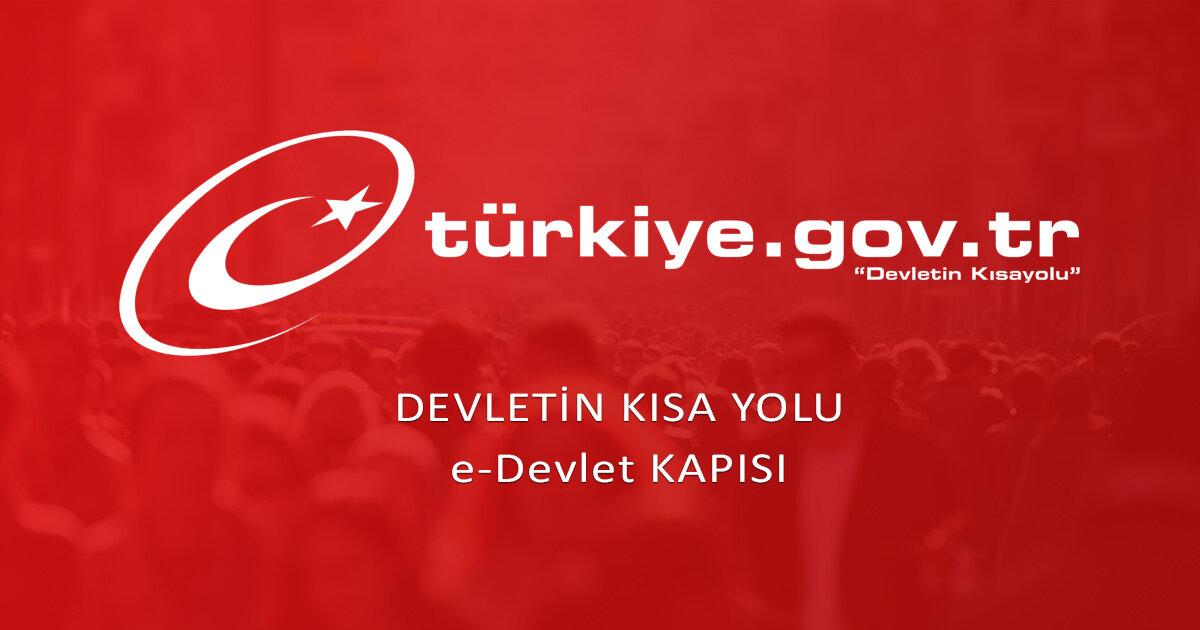 e-Devlet Kapısı Devletin Kısayolu | www.türkiye.gov.tr